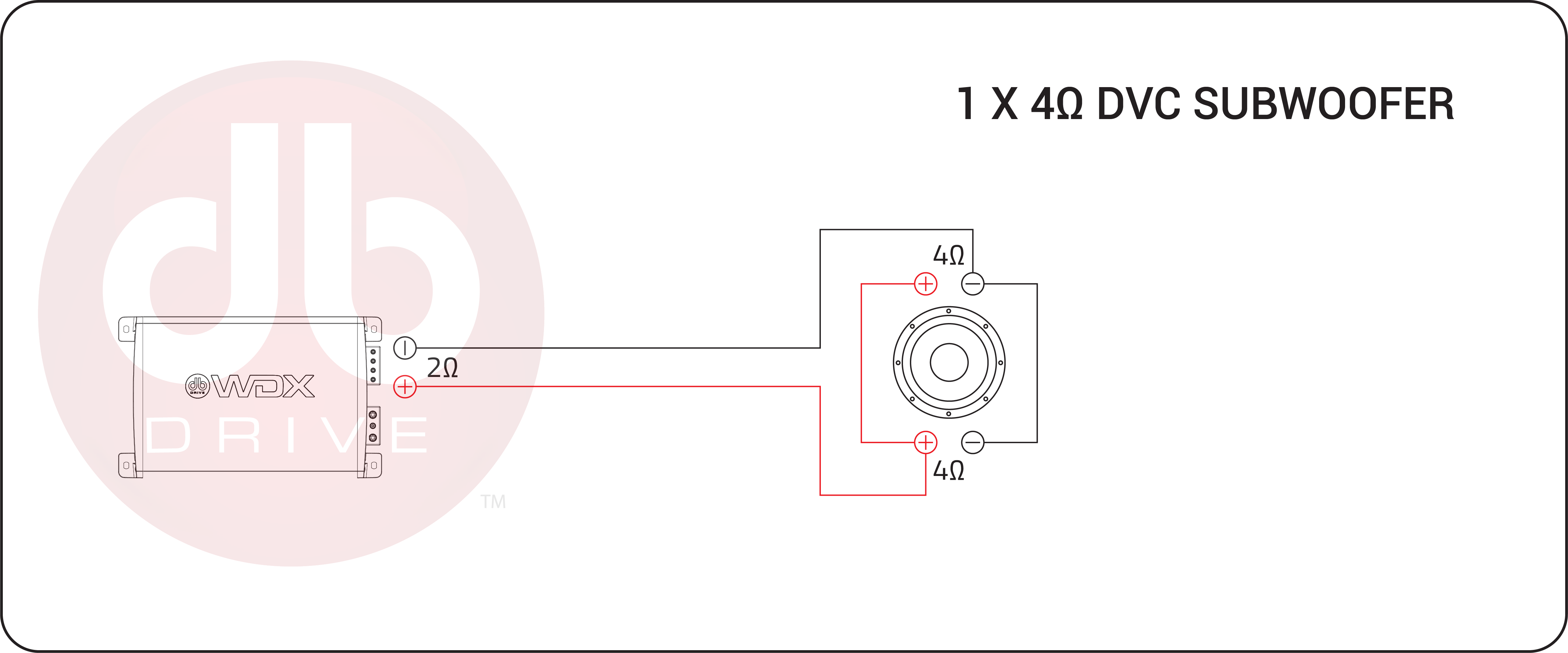4 ohm dvc wiring diagram wdx10g5 4     db drive  wdx10g5 4     db drive
